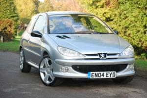 '04' Peugeot 206 2.0 GTI 180 16v 3dr A/C LTH ONLY 64,000 MILES Photo