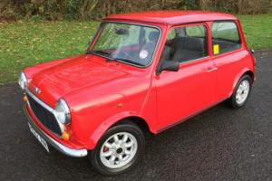 1990 Rover Classic MINI RACG FLAME CHECKMATE 1275cc Special Edition