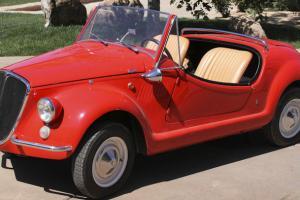 Fiat : 500 red