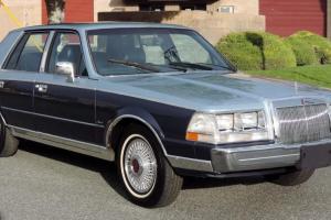 Lincoln : Continental California
