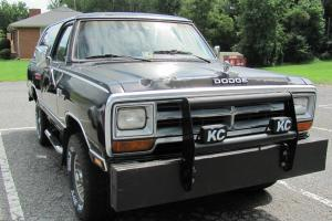 Dodge : Ramcharger Royal LE