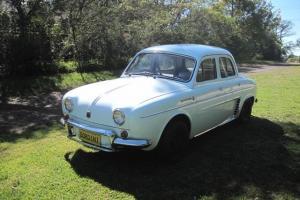 Renault Dauphine Gordini 1963 Excellent Condition R8 R10 R17 Citroen Peugoet