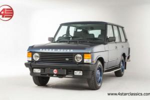 FOR SALE: Range Rover Classic Vogue SE