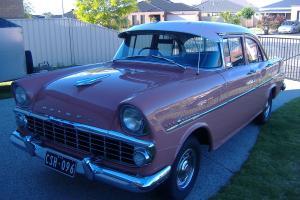 Holden EK Special Sedan Sold BY Savell Brothers Hurstville 18 6 1962 28 000MILES Photo
