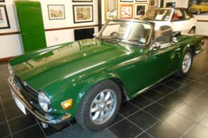 Triumph TR6 restored