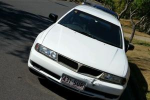 Mitsubishi Magna Executive 2002 4D Wagon 4 SP Automatic 3 5L Multi Point in Nathan, QLD Photo