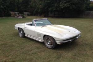 Chevrolet : Corvette 2 door convertible