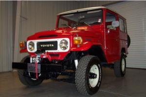 Toyota : Land Cruiser FJ40 AC PS 100 PICS DRIVE/SHOW BEAUTY FJ 40 WINCH