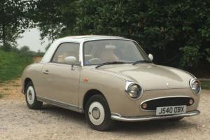 IMPORT NISSAN FIGARO 1 LITRE TURBO CONVERTIBLE FULLY REFURBISHED