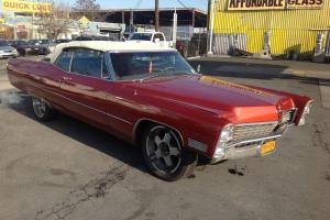 Cadillac : DeVille Convertible
