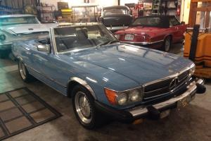 Mercedes-Benz : 400-Series SL convertible