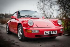 1990 Porsche 911 (964) Carrera 2 Cabriolet - Guards Red With Linen Leather