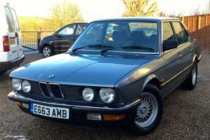 1988/E BMW 520i (E28) Lux Auto