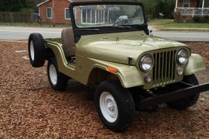 Jeep : CJ CJ 5