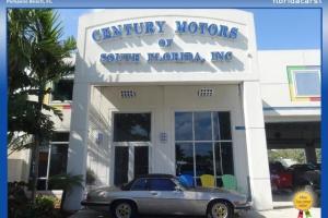 Jaguar : XJS Conv T Tops Non Smoker Clean FL RARE 1 Owner V12