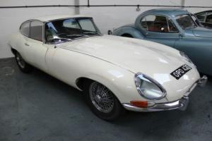 Jaguar E Type Series 1 4.2 Coupe Matching Numbers Undergoing Complete Rebuild XK