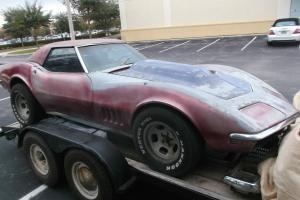 Chevrolet : Corvette Green
