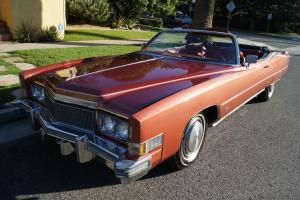 Cadillac : Eldorado CONVERTIBLE WITH A BELIEVED 65K ORIGINAL MILES!