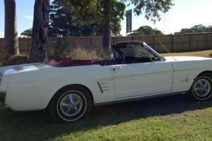 1966 V8 Mustang Convertible