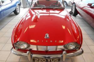 Triumph TR4 LHD 2.2L 1962, Red