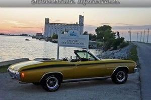 Chevrolet : Chevelle Malibu Convertible