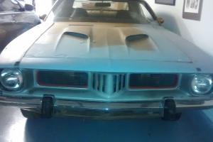 Plymouth : Barracuda Cuda