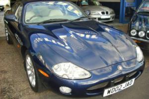 2002 Jaguar XKR 4.0 Supercharge auto Coupe,66,000mls, Jaguar history,Metallic
