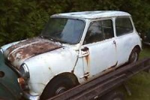 Morris Mini 850 Sports 1968 Complete Rusted OUT Suit Parts Only Photo