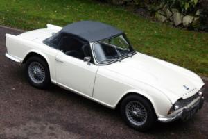 1963 Triumph TR4 Rare ''White Dash Model'' Convertible. 52 Years old.