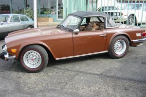 Triumph : TR-6 converible Photo