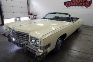 Cadillac : Eldorado Runs Drive Very Good Body Interior 500V8 New Top
