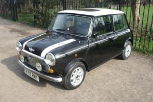 1990 Classic Rover Mini Cooper RSP in Black with 32 miles