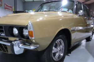 1972 Rover 3500 V8S Manual, Tobacco leaf, Buckskin leather, outstanding car.