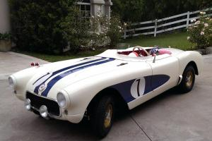Chevrolet : Corvette 1956 SR Prototype Sebring Racer Replica