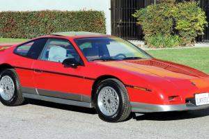 Pontiac : Fiero GT, California Car