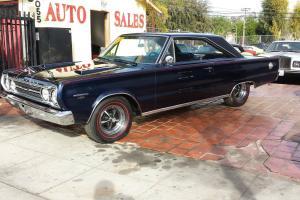 Plymouth : GTX Belvedere