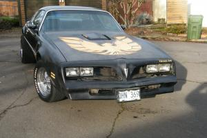 Pontiac : Trans Am W87 k code Black and Gold