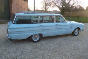 """1963 Ford Falcon Station Wagon """" 1 Lady Owner """" Original bill of sale 66k miles"""