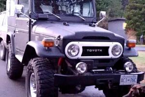 Toyota : Land Cruiser FJ40 Photo