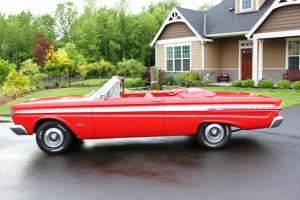 "1964 MERCURY COMET CALIENTE SURVIVOR ""K"" CODE CONVERTIBLE""RED""  AT PS PB PT"