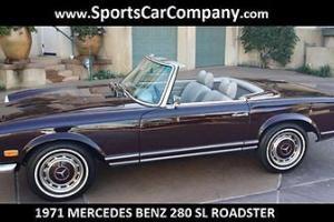 Mercedes-Benz : SL-Class ROADSTER