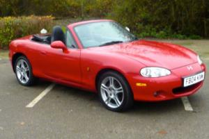 MAZDA MX-5 S-VT SPORT 2004 COVERED 65,000 FROM NEW - IMMACULATE STUNNING CAR Photo