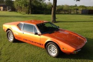 1974 De Tomaso Pantera GTS