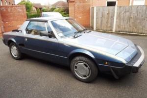 1984 Fiat X1/9 VS