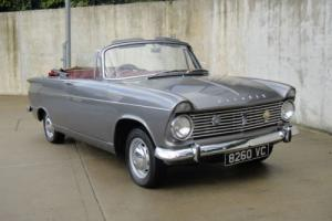 Hillman SUPER MINX-Convertible Photo
