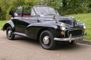 1963 Morris Minor 1000 Convertible Photo