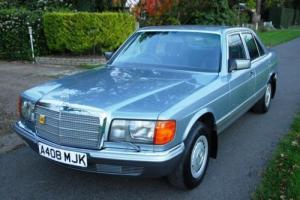 1984 Mercedes-Benz 380SE Saloon