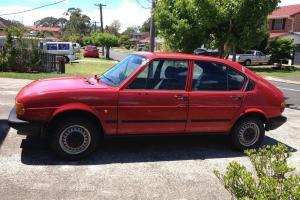 Alfa Romeo Alfasud Super 1982 4D Sedan 5 SP Manual 1 5L Carb SUD Twin Carb in Wollongong, NSW