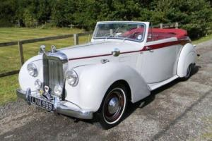 1951 Alvis TA21 Three Position drophead by Tickford Photo