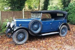 1930 Alvis 12/50 TJ Tourer by Cross and Ellis Photo